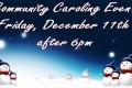 Community Caroling 2015
