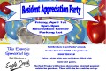 Toll Brothers Sponsored Resident Appreciation Party Friday, April 1, 2016
