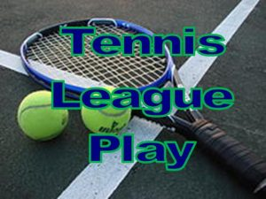 Tennis League Play Logo
