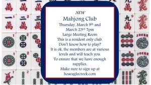 Mahjong Club @ Small Meeting Room  | Orlando | Florida | United States