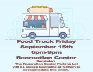 Food Truck Friday @ Recreation Center Parking Lot | Orlando | Florida | United States