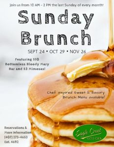 Sunday Brunch @ The Belfry Restaurant | Orlando | Florida | United States