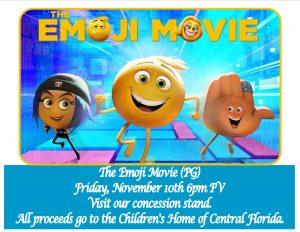 Emoji Movie (PG) @ Pavilion Area | Orlando | Florida | United States