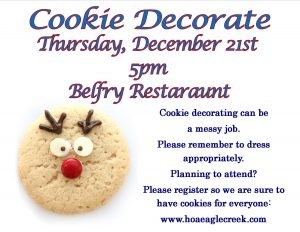 Cookie Decorate 2017 @ The belfry Restaurant | Orlando | Florida | United States