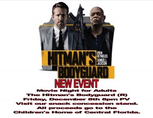 Movie Night for Adults: The Hitman's Bodyguard @ Pavilion | Orlando | Florida | United States
