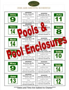 Calendar Bold Pools & Pool Enclosures
