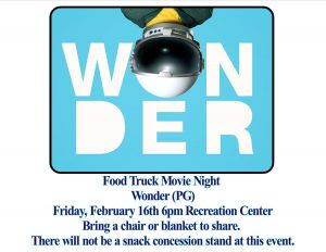 Food Truck Friday and Movie Night: Wonder (PG) @ Recreation Center | Orlando | Florida | United States