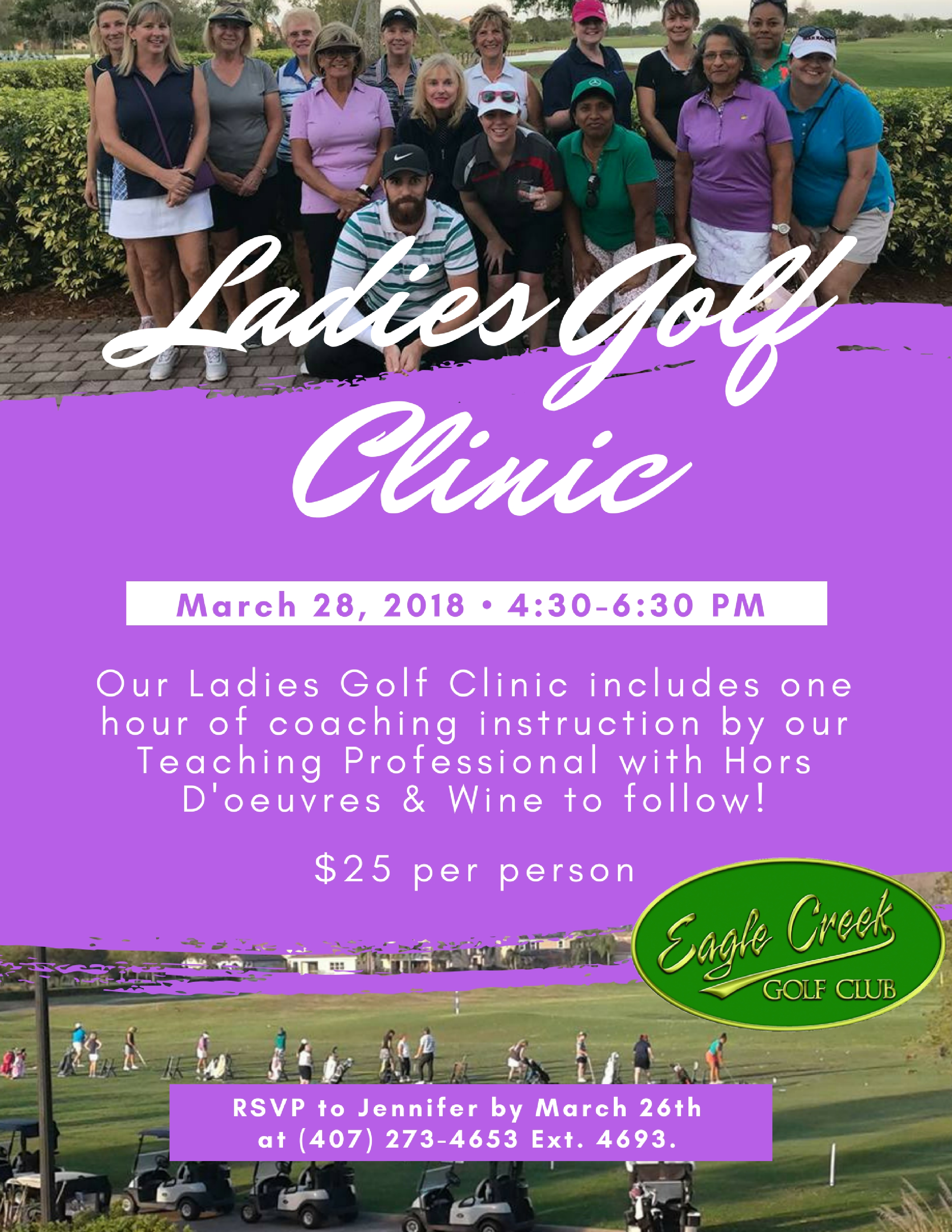March Ladies Golf Clinic