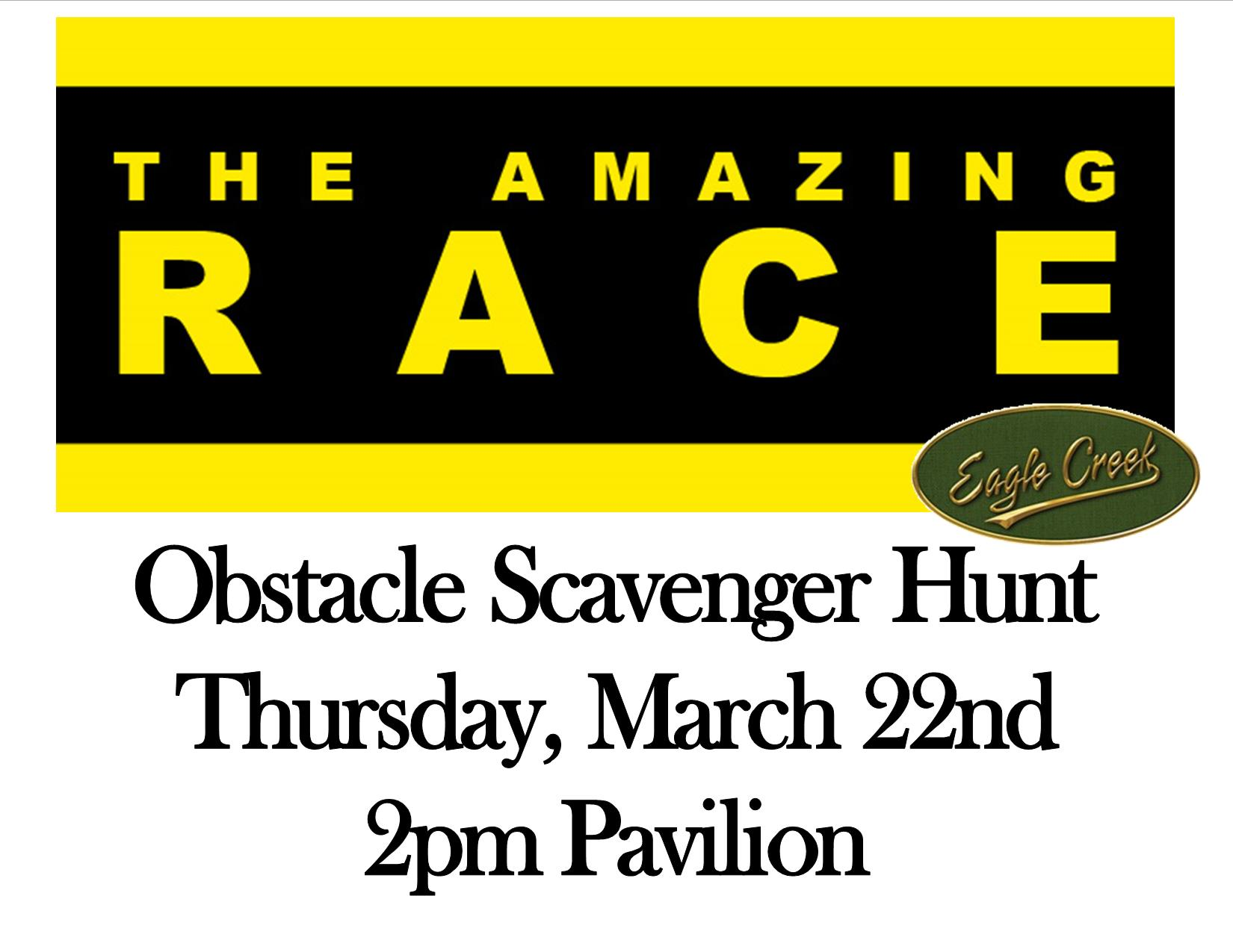 Movie Madness Mar2018 Amazing Race