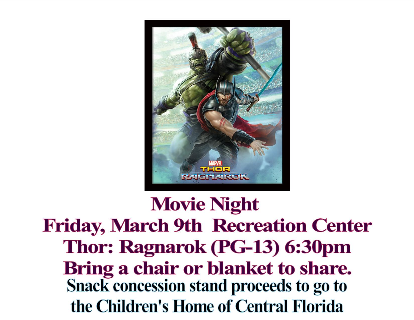 Movie Madness Mar2018 Thor