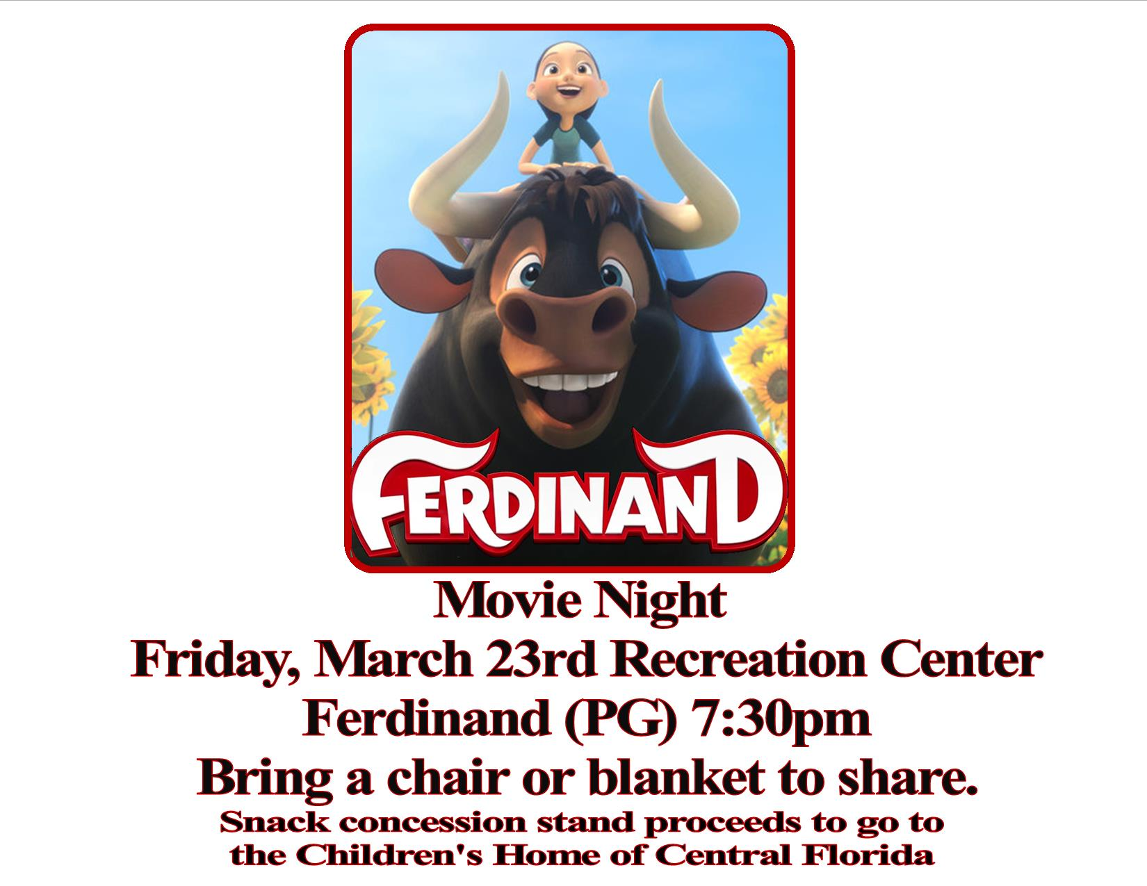 Movie Madness Mar2018 ferdinand